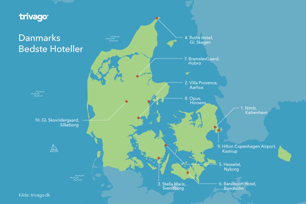 Danmarks bedste hoteller