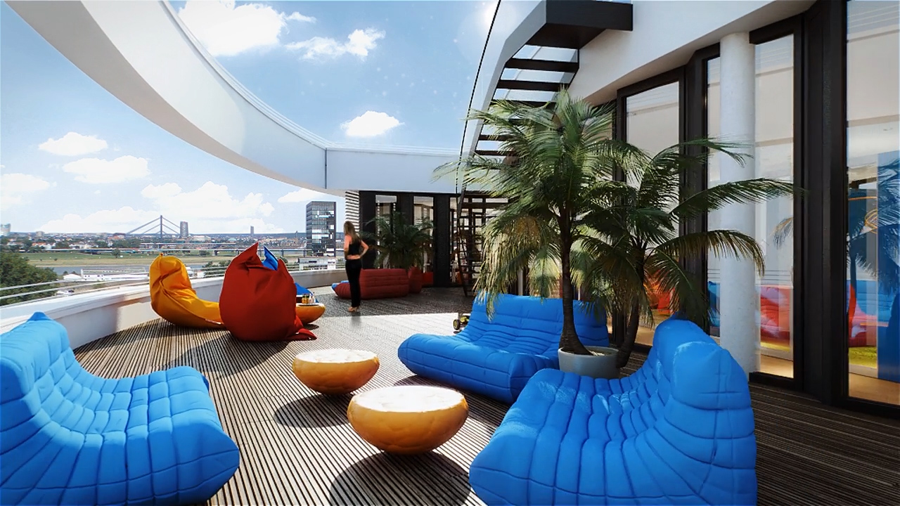 Trivago 39 s new state of the art campus is what office dreams are made of notable life - Trivago office dusseldorf ...